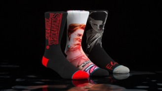 'Stranger Things' Socks Are The Halloween Gift-To-Self You Deserve