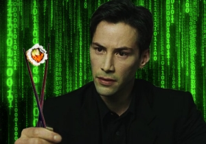 Your New Favorite Sushi Recipe Can Be Found In The Matrix Code