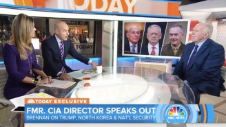 Matt Lauer Asks Obama's CIA Director If Trump's Aides Can 'Lock Him In A Room' To Prevent Nuclear War
