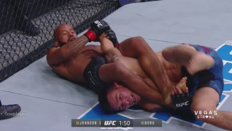 Demetrious Johnson Throws Ray Borg In The Air Then Catches Him In An Armbar To Make History At UFC 216