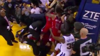 Kelly Oubre Jr. Punched Teammate John Wall During The Warriors And Wizards Fight
