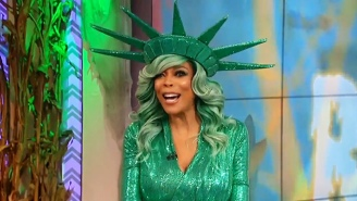 Talk Show Host Wendy Williams Faints On Live TV After Overheating In A Halloween Costume