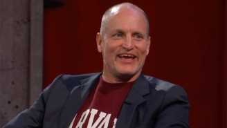 Woody Harrelson Discusses The Difficulty In Telling Willie Nelson He Stopped Smoking Pot On 'Kimmel'