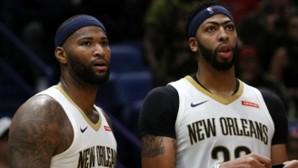 Anthony Davis Learned DeMarcus Cousins Joined The Warriors While Watching TV