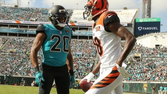 A.J. Green Snapped, Put Jalen Ramsey In A Chokehold, And Punched Him In The Helmet