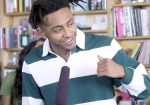 Amine Brings Portland Swag To An NPR Tiny Desk Medley Of His Pop-Rap Hits