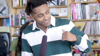 Amine Brings Portland Swag To An NPR Tiny Desk Medley Of His Pop-Rap Hits