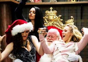 'A Bad Moms Christmas' Strands A Great Cast In A Rancid Holiday Comedy