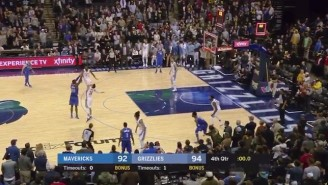 The Mavs Beat Memphis On A Crazy Harrison Barnes Buzzer-Beater With 0.5 Seconds Left