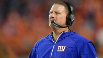 The Giants Have Fired Head Coach Ben McAdoo A Week After Benching Eli Manning