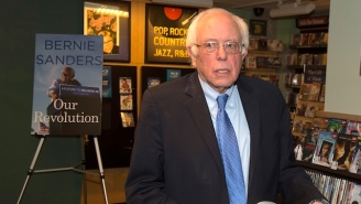 Bernie Sanders Is Actually Competing Against Bruce Springsteen For A Grammy This Year
