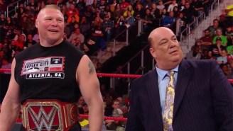 Paul Heyman Trash Talked A Fan Marriage Proposal During Raw