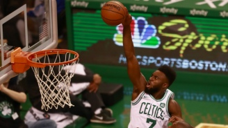 The Guy From Counting Crows Is A Huge Fan Of Celtics Guard Jaylen Brown