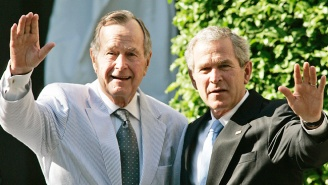 The White House Criticizes The Iraq War After George H.W. Bush Calls Trump A 'Blowhard'