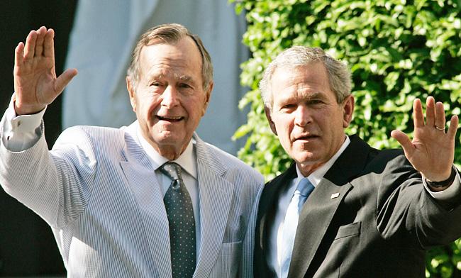 The White House Criticizes The Iraq War After George H.W. Bush Calls Trump A 'Blowhard'