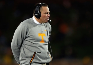 Tennessee Fires Coach Butch Jones After A Lopsided Loss To Missouri