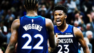Andrew Wiggins Thinks The Jimmy Butler Drama Has Been Overblown