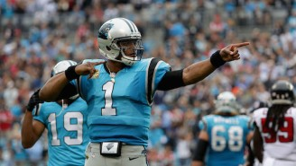 Cam Newton Made An Odd Choice To Compare The Panthers To The Titanic