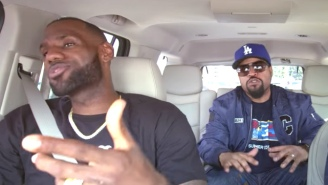 LeBron James And Ice Cube Teamed Up To Perform 'It Was A Good Day' On Carpool Karaoke