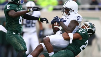 Penn State And Michigan State Got Stuck In A Never-Ending Weather Delay