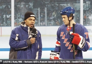 Chance The Rapper Perfectly Portrays A Clueless Hockey Reporter On 'SNL'
