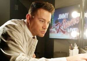 Channing Tatum Gets Help From Ellen For A 'Magic Mike' Dance Opening On 'Jimmy Kimmel Live'
