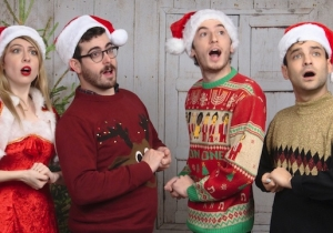 Charly Bliss' Cover Of Mariah Carey's 'All I Want For Christmas Is You' Is Glittery Holiday Brilliance