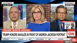 Native Americans Assess Trump's 'Pocahontas' Remark On CNN: 'It Was A Condescending Racial Slur'