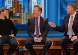 Will Ferrell Takes A Moment On 'Conan' To Highlight Mark Wahlberg's Weird Boston Friendships