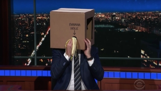 Stephen Colbert Roasts Ridiculous Real-Life Inventions For The 'Late Show'