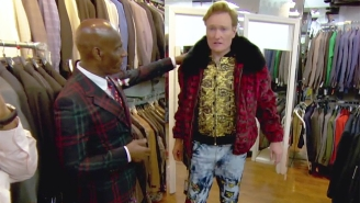 Conan Kicks Off His Week At The Apollo By Showcasing His Terrible Fashion Taste With Dapper Dan