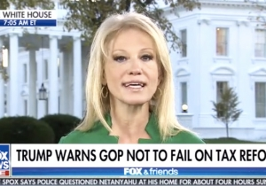 Kellyanne Conway Defends Roy Moore Because Republicans Need His Vote On The Tax Bill