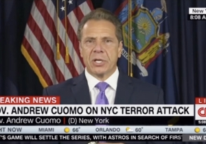 New York Gov. Andrew Cuomo Says The NYC Terror Suspect Has A '100 Percent Failure Rate'