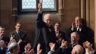 Gary Oldman's 'Darkest Hour' Performance Is A Stunt — But It's An Impressive One