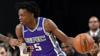 Kings Rookie De'Aaron Fox Hit A Game-Winning Jumper To Knock Off The Sixers