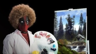 This 'Deadpool 2' Teaser Channels Bob Ross Before Dropping The First Footage