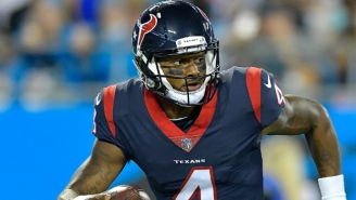 Deshaun Watson Reportedly Suffered A Non-Contact ACL Tear In Practice