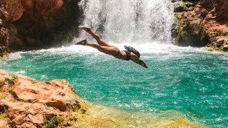 Meet The Badass Adventurer Bringing Cliff Diving To The Mainstream