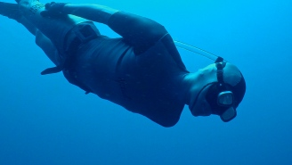 Go Underwater In 360-Degrees With This World Record Holding Freediver