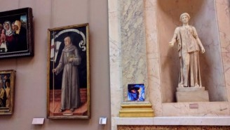 Some Genius Actually Hung Lorde's 'Melodrama' In The Louvre