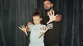 Drake And Millie Bobby Brown Are Buds Now And Here Are The Photos To Prove It