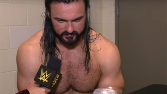 Drew McIntyre Suffered A Serious Injury At NXT TakeOver: WarGames