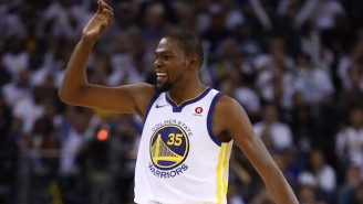 Kevin Durant Is The Lone NBA Representative On This Year's 'Time 100' List