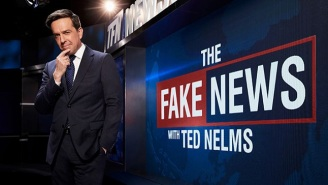 Ed Helms Returns To Comedy Central With A New Special Titled 'The Fake News With Ted Nelms'