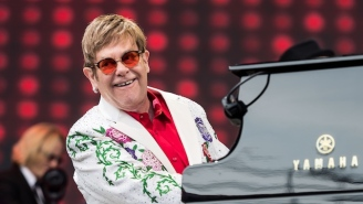 Elton John Gave A Surprise Performance For 'The Lion King' Musical's 20th Anniversary Celebration