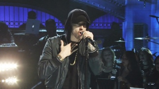 Eminem Killed His 'SNL' Performance With A 'Walk On Water' Medley Of His Biggest Hits
