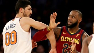 Enes Kanter Joked He'd Demand A Trade If He Was Added To LeBron James' All-Star Team