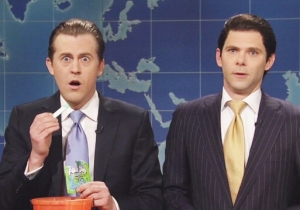 Watching Donald Trump Jr. Teach Eric Trump About Fun Dip Is The Moment Of The Night On 'SNL'