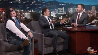 James Franco Appeared Alongside His 'Disaster Artist' Muse Tommy Wiseau On 'Jimmy Kimmel Live'