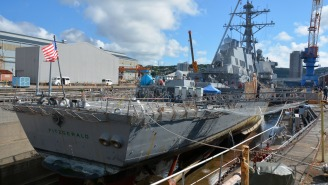 A U.S. Navy Warship That Suffered A Fatal Collision This Year Has Sustained Damage In A New Incident